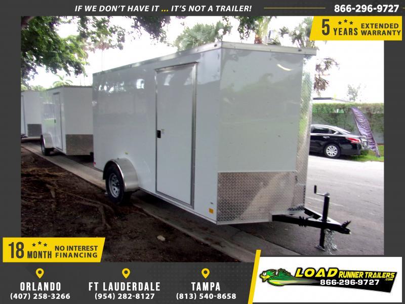 *116508* 6x12 Enclosed Cargo Trailer |LRT Haulers & Trailers 6 x 12