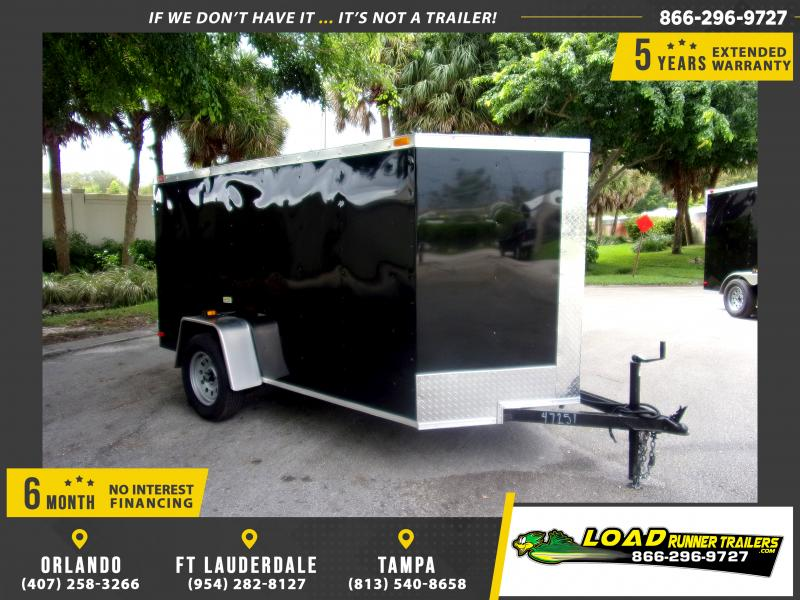 *112052* 5x10 Enclosed Cargo Trailer |LRT Haulers & Trailers 5 x 10
