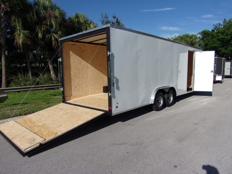 *115812* 8.5x24 Enclosed Cargo Trailer |LRT Tandem Axle Trailers 8.5 x 24