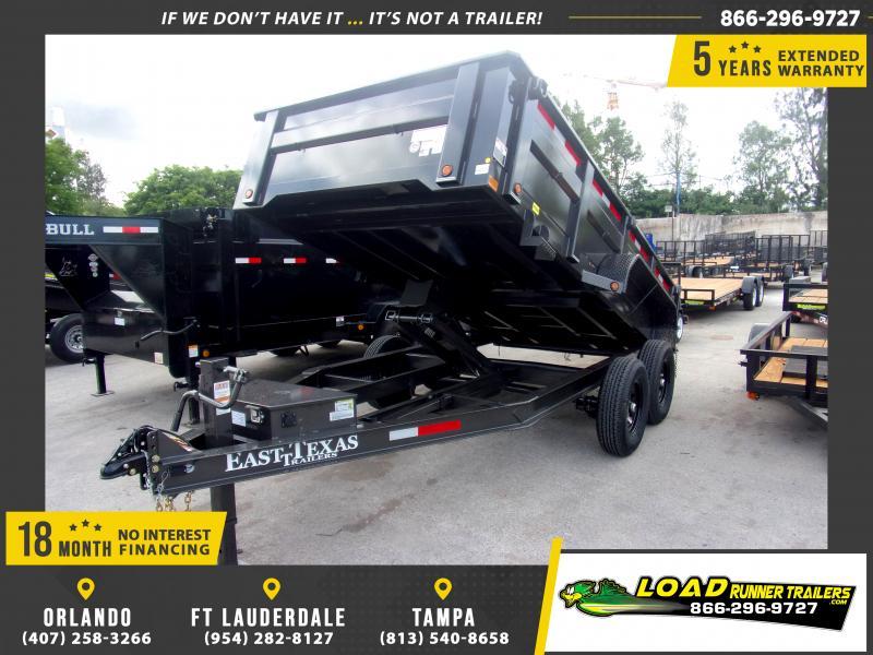 *115625* 7x14 Dump Trailer |LRT Tandem Axle Trailers 7 x 14