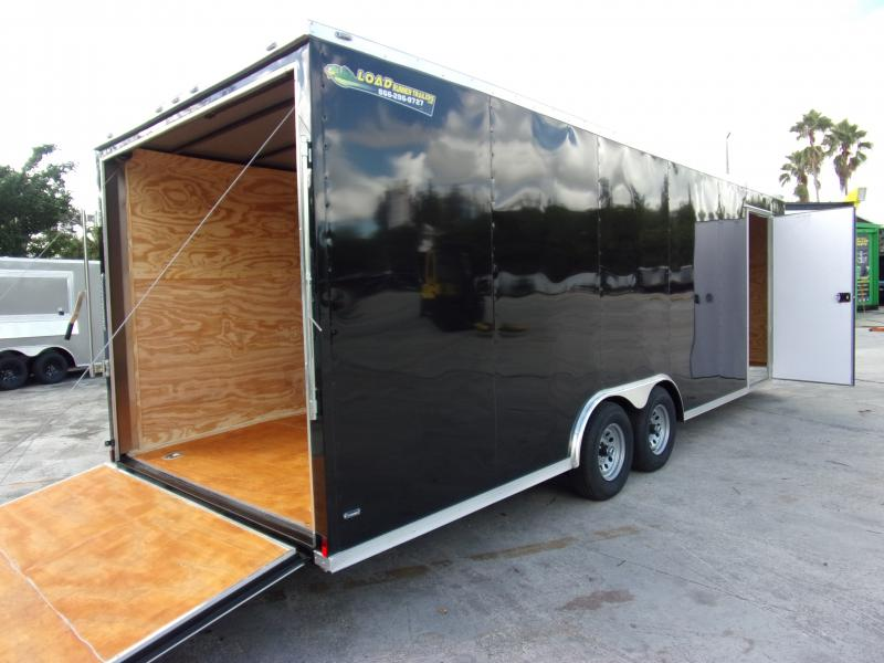 *111252* 8.5x24 Enclosed Cargo Trailer |LRT Tandem Axle Trailers 8.5 x 24