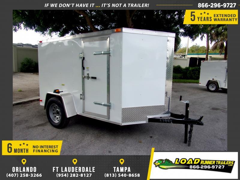 *115853* 5x8 Enclosed Cargo Trailer |LRT Haulers & Trailers 5 x 8