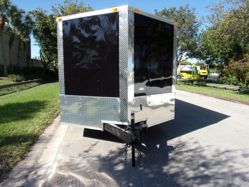 *112669* 8.5x16 Enclosed Cargo Trailer |LRT Tandem Axle Trailers 8.5 x 16