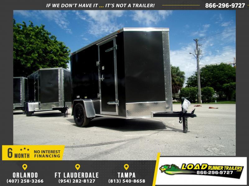 *117028* 5x8 Enclosed Cargo Trailer |LRT Haulers & Trailers 5 x 8