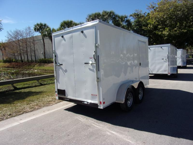*116509* 6x12 Enclosed Cargo Trailer |LRT Tandem Axle Trailers 6 x 12