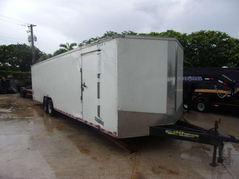 *116701* 8.5x30 Enclosed Cargo Trailer |LRT Tandem Axle Trailers 8.5 x 30