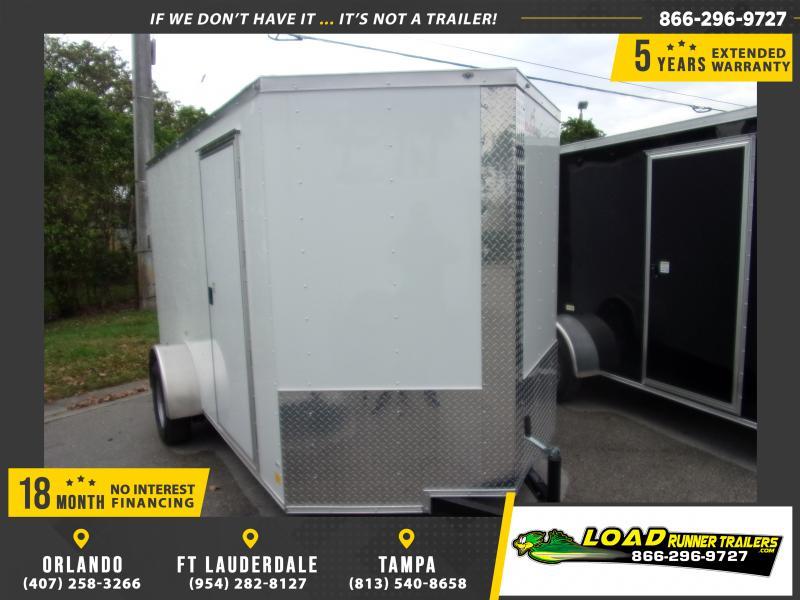 *115751* 6x12 Enclosed Cargo Trailer  LRT Haulers & Trailers 6 x 12