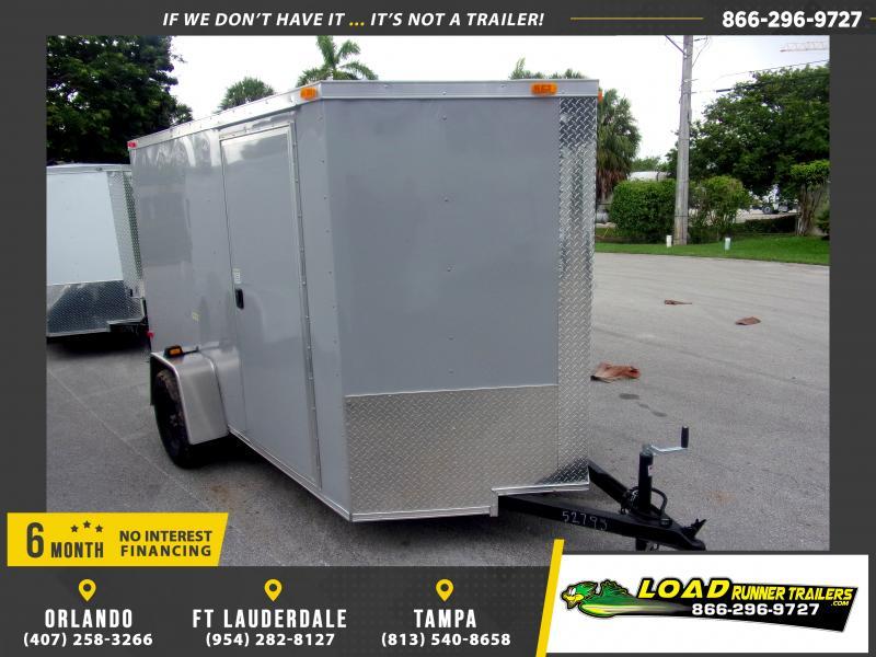 *116514* 6x10 Enclosed Cargo Trailer |LRT Haulers & Trailers 6 x 10