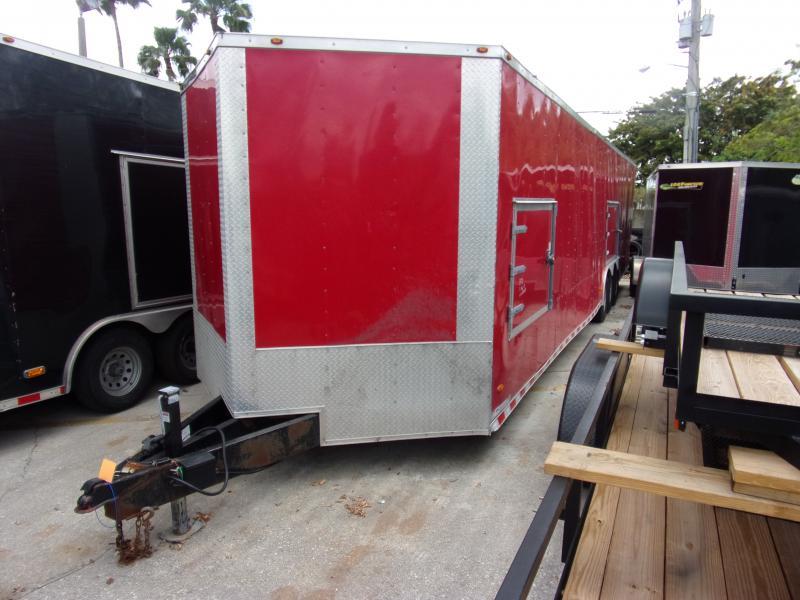 *114000* 8.5x36 Enclosed Cargo Trailer |LRT Tandem Axle Trailers 8.5 x 36