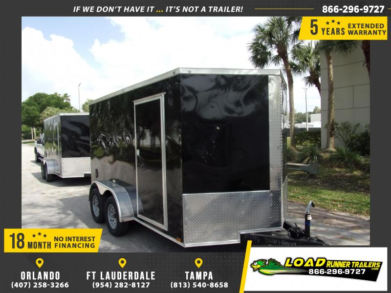 *114853* 7x12 Enclosed Cargo Trailer |LRT Tandem Axle Trailers 7 x 12