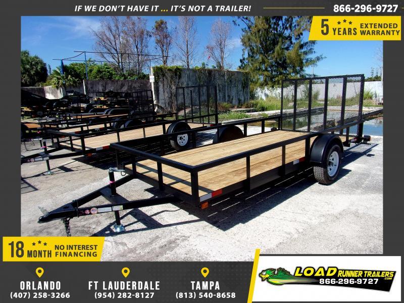 *113540* 6x14 Utility Trailer   LRT Trailers & Haulers 6 x 14