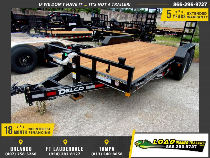 *110729* 7x16 Equipment Trailer |LRT Tandem Axle Trailers 7 x 16