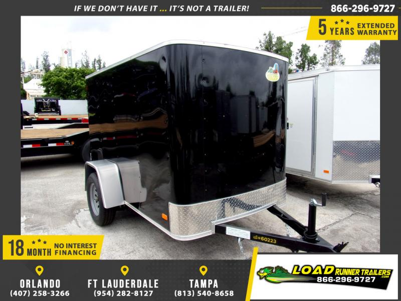 *109767* 5x8 Enclosed Cargo Trailer |LRT Haulers & Trailers 5 x 8