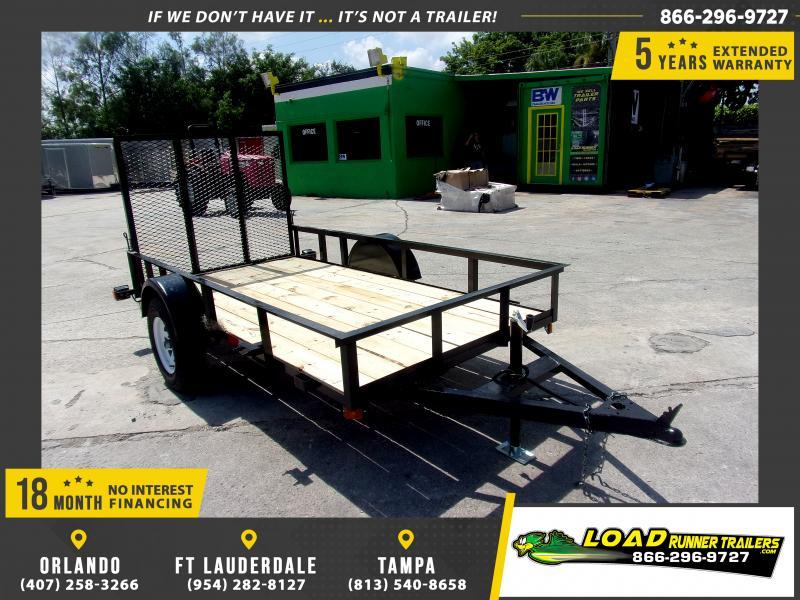 *116675* 5x10 Utility|Lawn|ATV|Multipurpose Trailer |LRT Haulers & Trailers 5 x 10