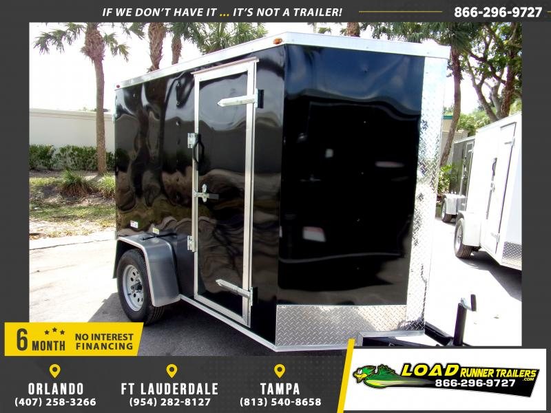 *114634* 5x8 Enclosed Cargo Trailer |LRT Haulers & Trailers 5 x 8