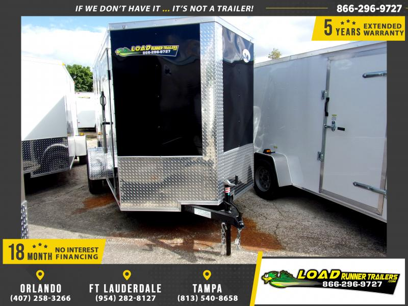 *112077* 6x10 Enclosed Cargo Trailer |LRT Haulers & Trailers 6 x 10
