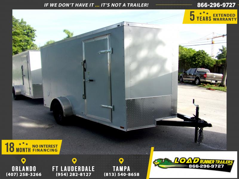 *116360* 7x12 Enclosed Cargo Trailer |LRT Haulers & Trailers 7 x 12
