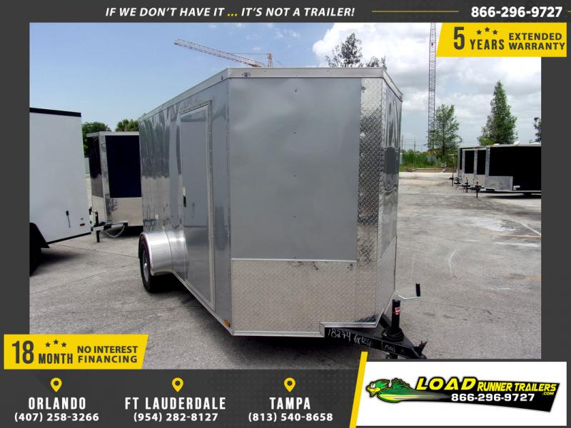 *110120* 6x12 Enclosed Cargo Trailer |LRT Haulers & Trailers 6 x 12