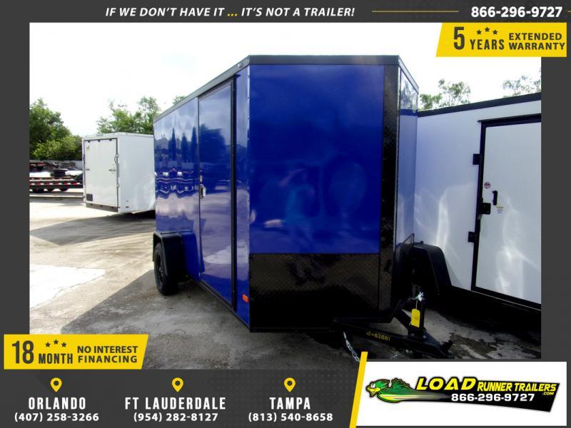 *110301* 6x12 Enclosed Cargo Trailer |LRT Haulers & Trailers 6 x 12