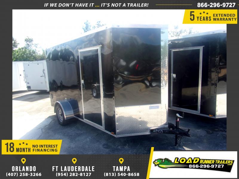 *116912* 6x12 Enclosed Cargo Trailer |LRT Haulers & Trailers 6 x 12