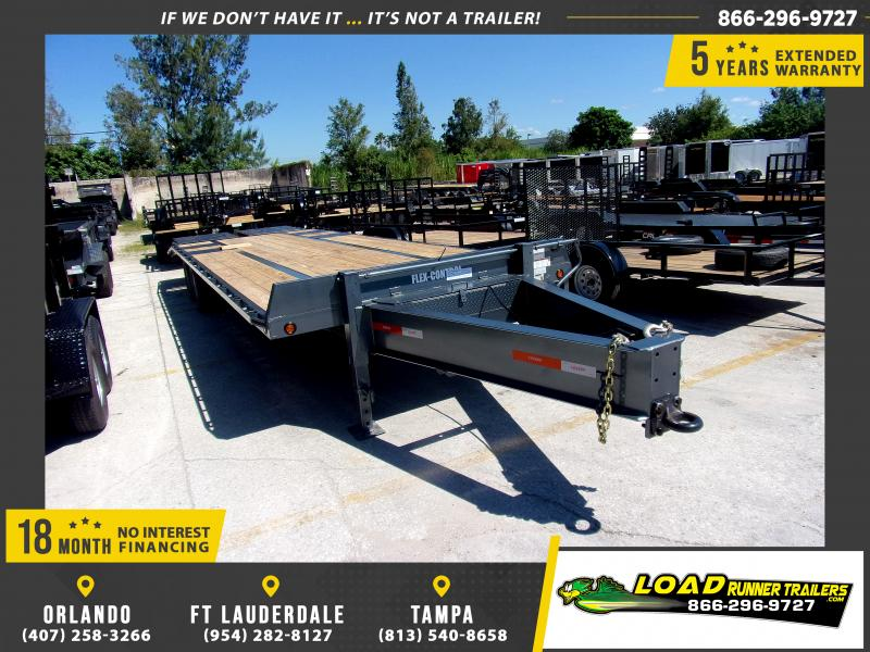 *117622* 8.5x28 Flatbed Deck Over Trailer |LRT Haulers & Trailers 8.5 x 28