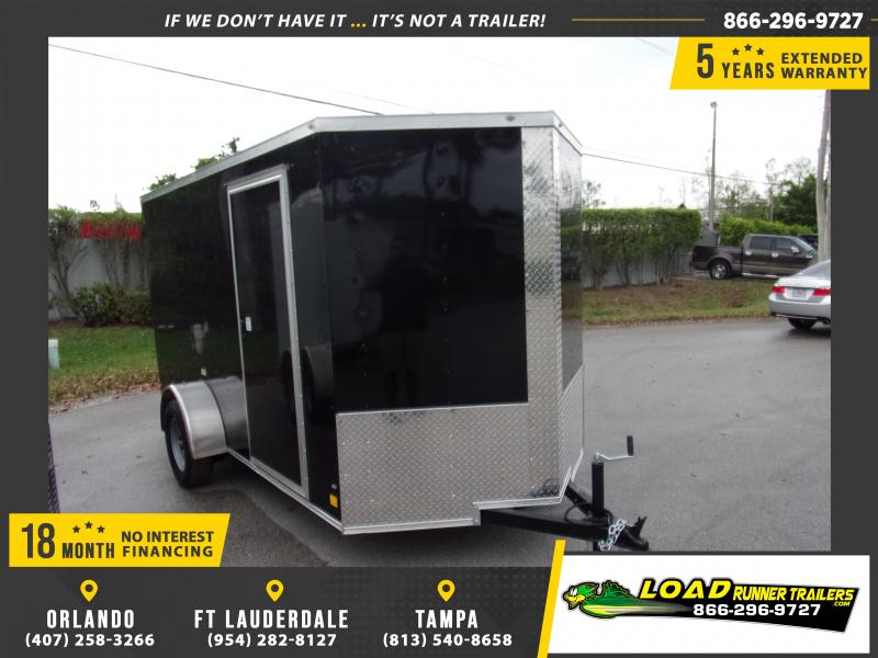 *114920* 6x12 Enclosed Cargo Trailer |LRT Haulers & Trailers 6 x 12