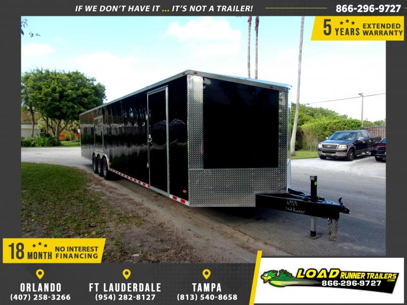*112843* 8.5x36 Enclosed Cargo Trailer |LRT Tandem Axle Trailers 8.5 x 36