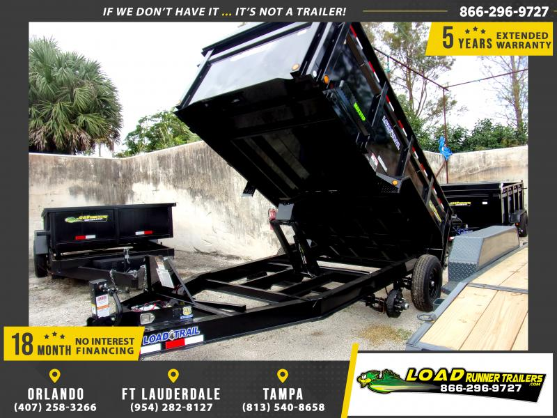 *112492* 7x14 Dump Trailer |LRT Tandem Axle Trailers 7 x 14