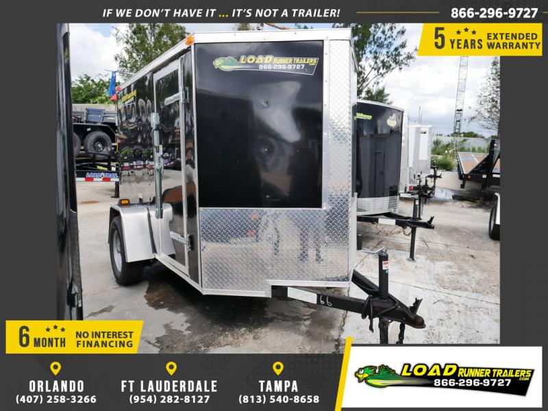 *E1-BBD* 5x8 Enclosed  Trailer Cargo Trailers 5 x 8 | EV5-8S3-D