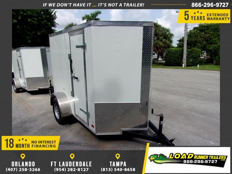 *117812* 5x8 Enclosed Cargo Trailer |LRT Haulers & Trailers 5 x 8