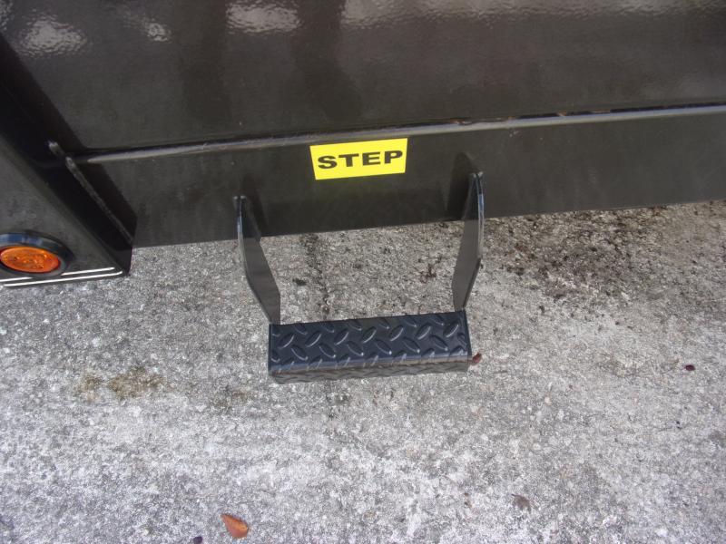 *113764* 7x14 Dump Trailer  LRT Tandem Axle Trailers 7 x 14