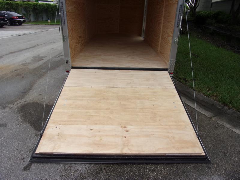 *112387* 7x16 Enclosed Cargo Trailer |LRT Tandem Axle Trailers 7 x 16