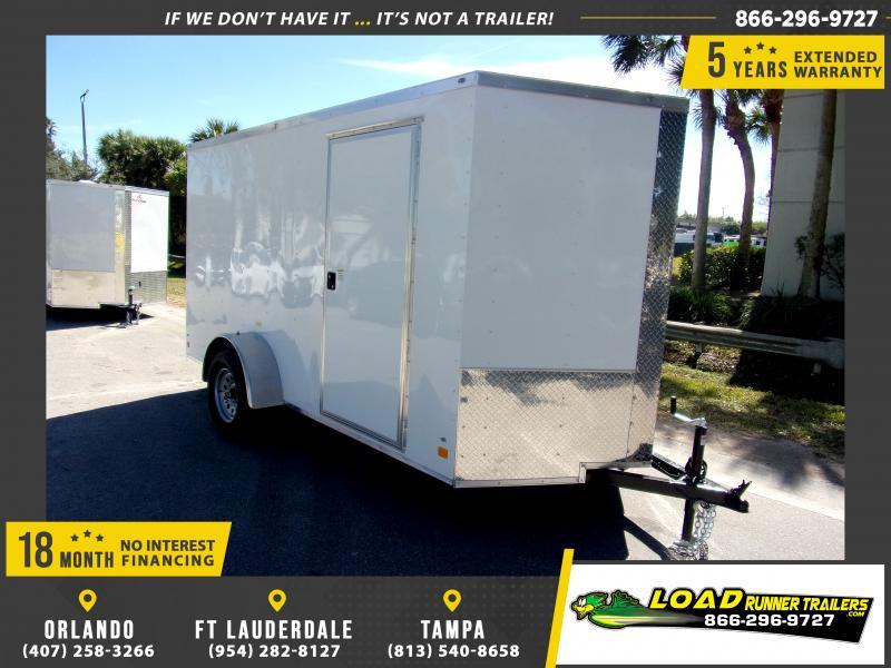 *114876* 6x12 Enclosed Cargo Trailer |LRT Haulers & Trailers 6 x 12