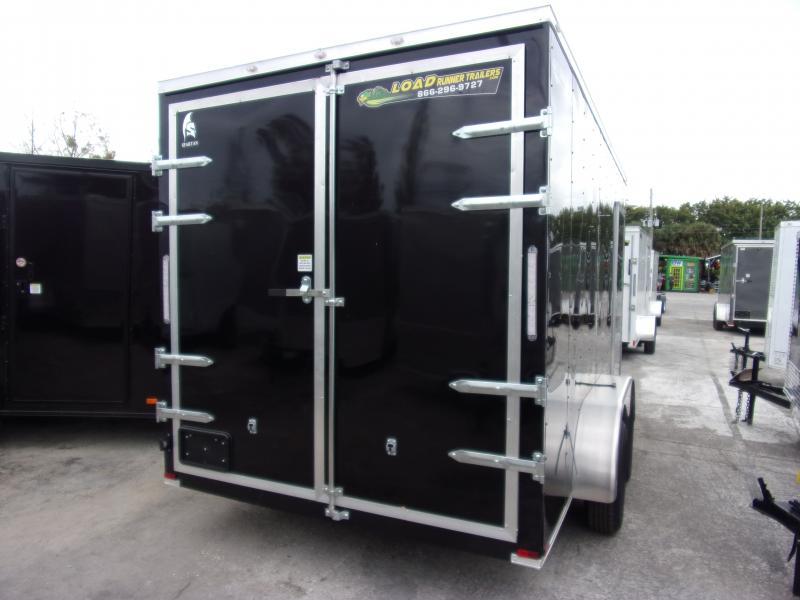 *113049* 7x14 Enclosed Cargo Trailer |LRT Tandem Axle Trailers 7 x 14