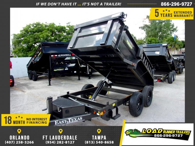 *114991* 5x10 Dump Trailer |LRT Tandem Axle Trailers 5 x 10