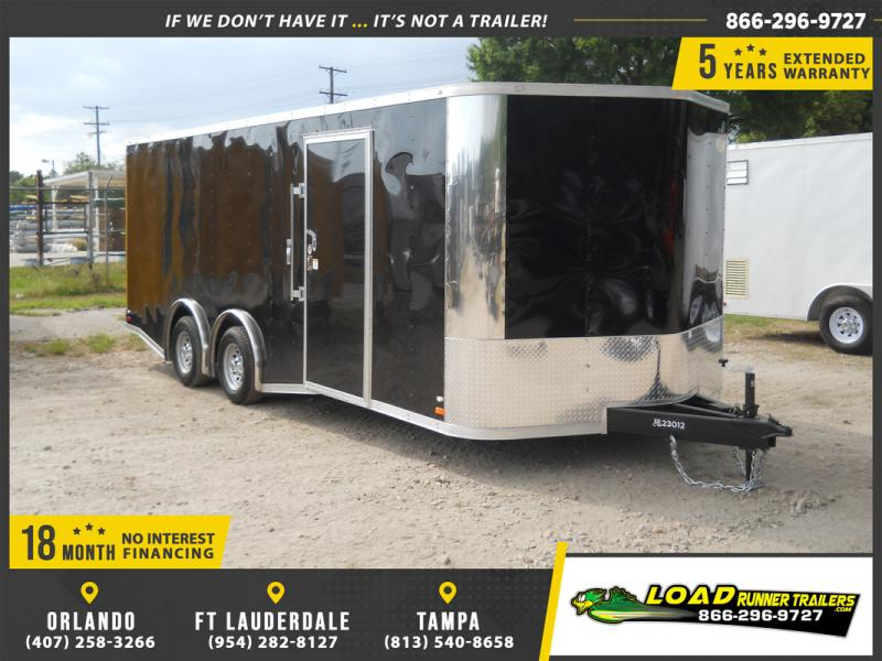 *E11F* 8.5x20 Enclosed Cargo Trailer Cargo Trailers 8.5 x 20 | EV8.5-20T5TS-R
