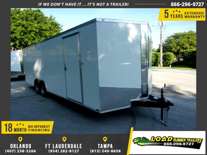 *117547* 8.5x24 Enclosed Cargo Trailer |LRT Tandem Axle Trailers 8.5 x 24
