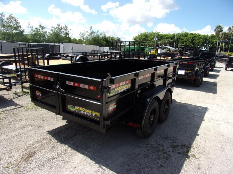 *115637* 6x12 5 TON Dump Trailer |LRT Trailers & Dumps 6 x 12