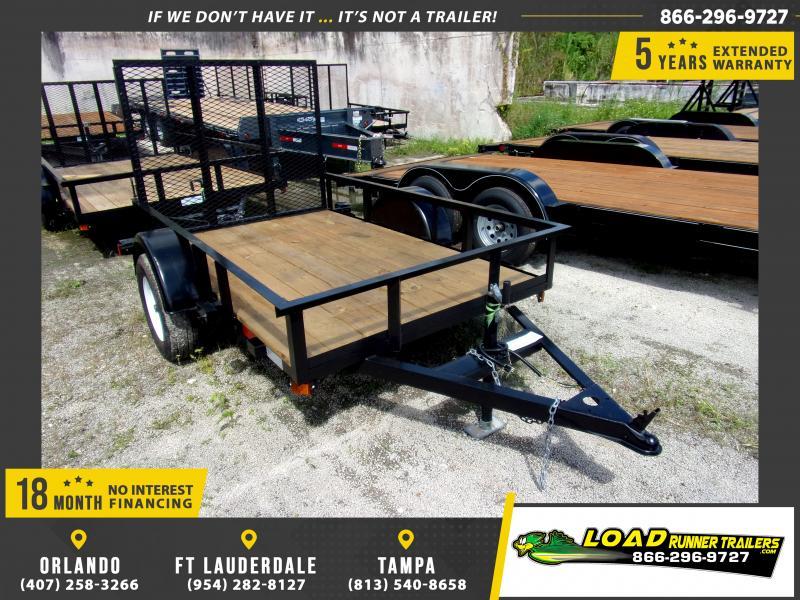 *117481* 5x8 Utility|Lawn|ATV|Multipurpose Trailer |LRT Haulers & Trailers 5 x 8