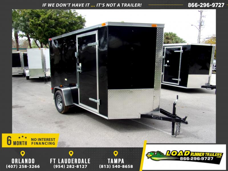 *113806* 6x10 Enclosed Cargo Trailer |LRT Haulers & Trailers 6 x 10