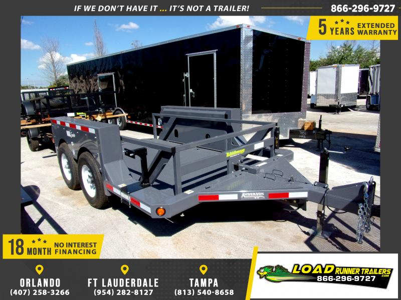 *111442* 6x10 Equipment Hauler Trailer  6 x 10
