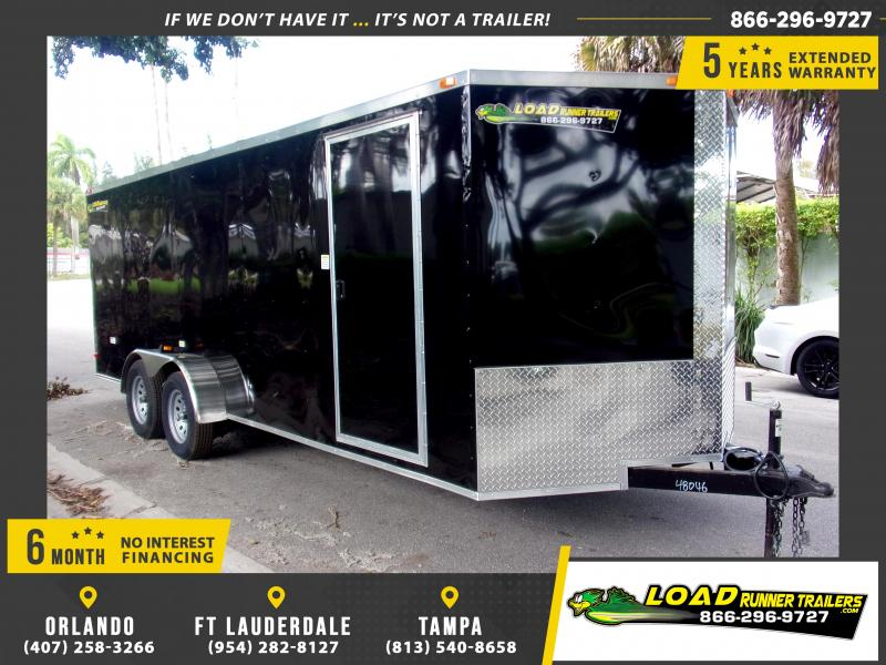 *112425* 7x20 Enclosed Cargo Trailer |LRT Tandem Axle Trailers 7 x 20