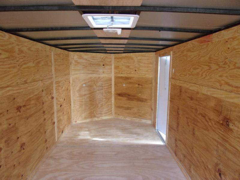 *112425* 7x20 Enclosed Cargo Trailer |LRT Tandem Axle Trailers 7 x 20