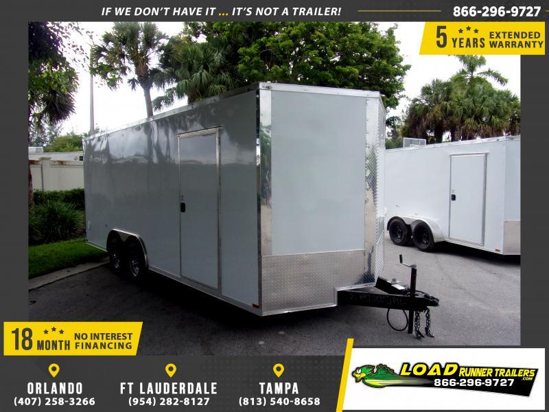 *116688* 8.5x20 Enclosed Cargo Trailer  LRT Tandem Axle Trailers 8.5 x 20