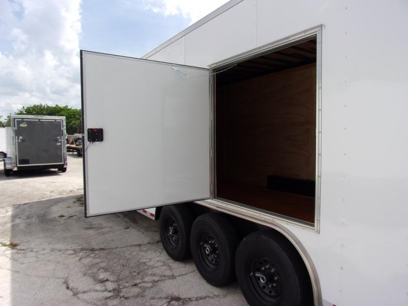 *108451* 8.5x36 Enclosed Cargo Trailer  LRT Tandem Axle Trailers 8.5 x 36