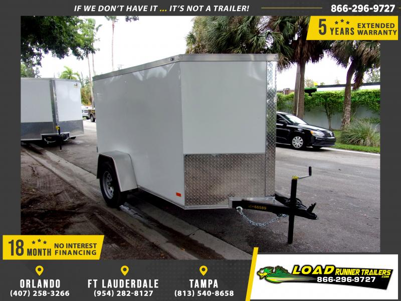 *112608* 5x8 Enclosed Cargo Trailer |LRT Haulers & Trailers 5 x 8