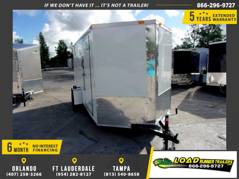 *109964* 6x12 Enclosed Cargo Trailer |LRT Haulers & Trailers 6 x 12