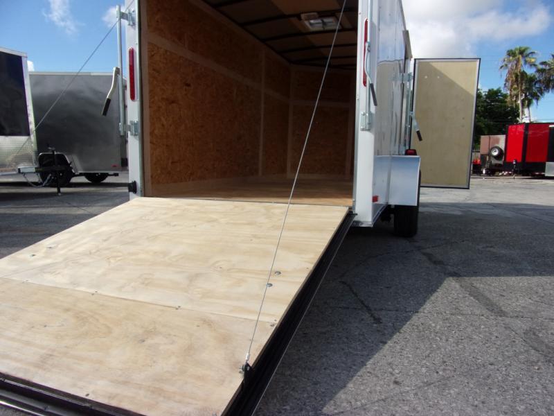 *109964* 6x12 Enclosed Cargo Trailer  LRT Haulers & Trailers 6 x 12