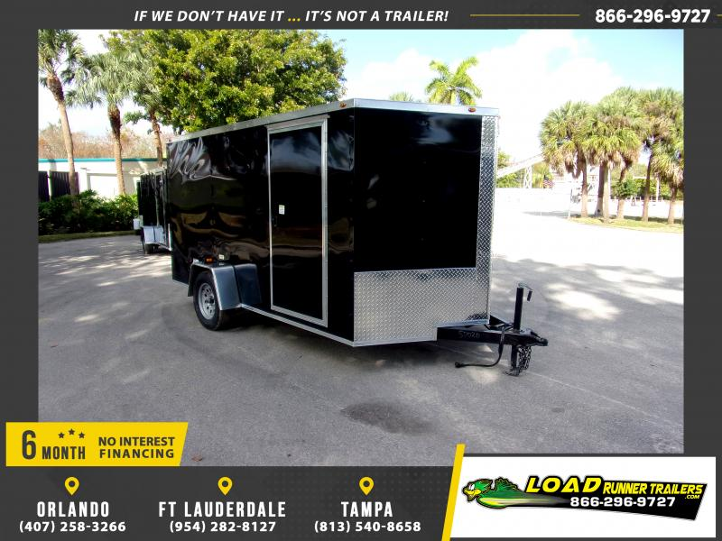 *113768* 7x12 Enclosed Cargo Trailer |LRT Haulers & Trailers 7 x 12
