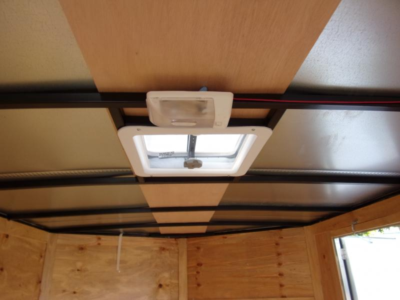 *113768* 7x12 Enclosed Cargo Trailer  LRT Haulers & Trailers 7 x 12